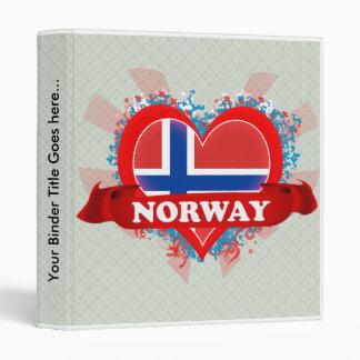 Amor Noruega del vintage I