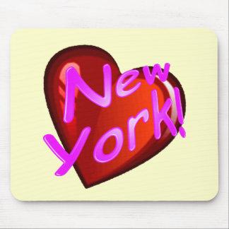 Amor Nueva York Alfombrilla De Ratón