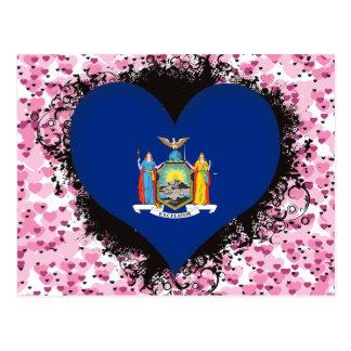 Amor Nueva York del vintage I Postal