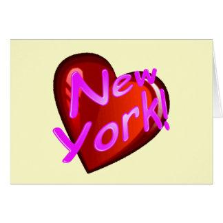 Amor Nueva York Felicitacion