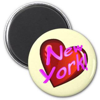Amor Nueva York Imán De Nevera