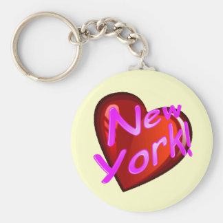 Amor Nueva York Llaveros Personalizados