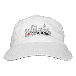 Amor Nueva York, Manhattan, gorra ajustable fresco Gorra De Alto Rendimiento