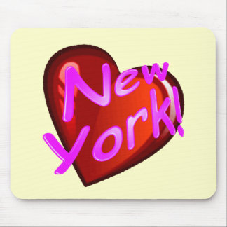 Amor Nueva York Tapetes De Ratón
