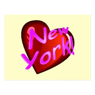 Amor Nueva York Tarjeta Postal
