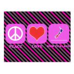 Amor Nueva Zelanda de la paz Postales