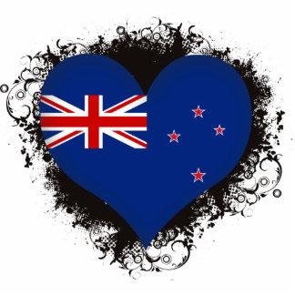 Amor Nueva Zelanda del vintage I Fotoescultura Vertical