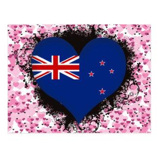 Amor Nueva Zelanda del vintage I Postales
