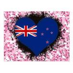 Amor Nueva Zelanda del vintage I Tarjeta Postal