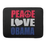 Amor Obama de la paz Funda Macbook Pro