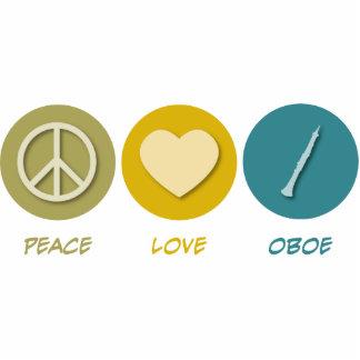 Amor Oboe de la paz Escultura Fotográfica
