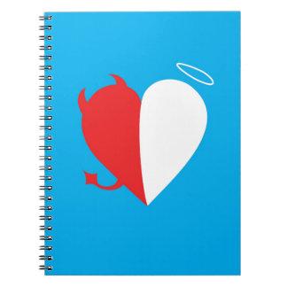 Amor/odio Spiral Notebooks
