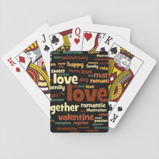Amor Cartas De Póquer