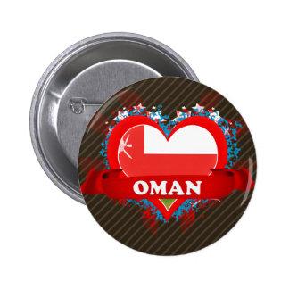 Amor Omán del vintage I Pins