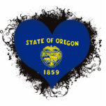 Amor Oregon del vintage I Esculturas Fotográficas