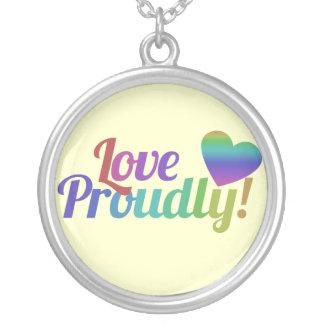 Amor orgulloso joyerias personalizadas