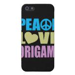 Amor Origami de la paz iPhone 5 Cárcasa