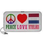 Amor Países Bajos de la paz PC Altavoces