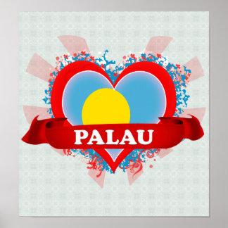 Amor Palau del vintage I Poster