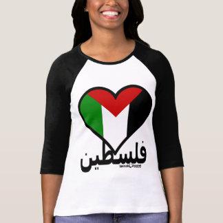 Amor Palestina Camiseta