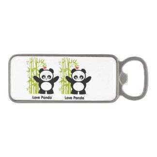 Amor Panda® Abrebotellas Magnético