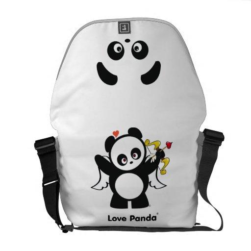 Amor Panda® Bolsa De Mensajería