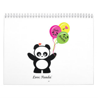 Amor Panda® Calendarios De Pared