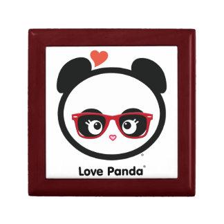 Amor Panda® Joyero Cuadrado Pequeño