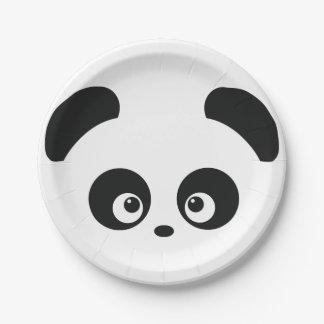 Amor Panda® Plato De Papel De 7 Pulgadas