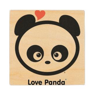 Amor Panda® Posavasos De Arce