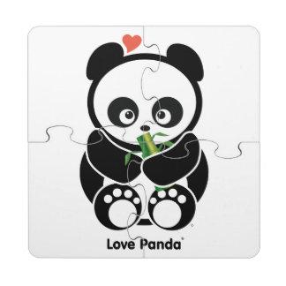 Amor Panda® Posavasos De Puzzle