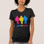 Amor Pansexual Camiseta
