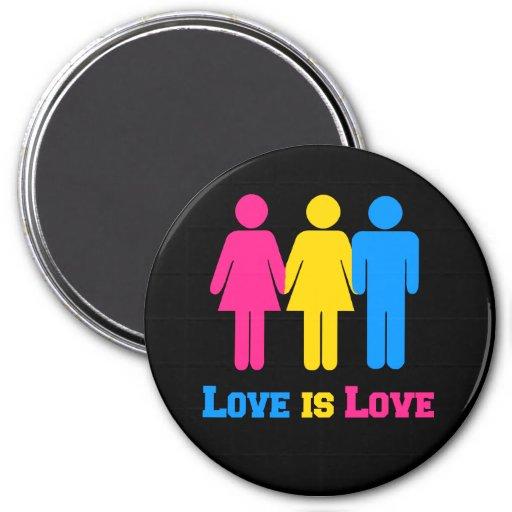 Amor Pansexual Imanes De Nevera