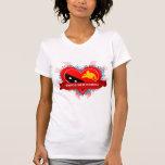 Amor Papúa Nueva Guinea del vintage I Camiseta