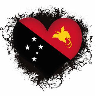 Amor Papúa Nueva Guinea del vintage I Fotoescultura Vertical