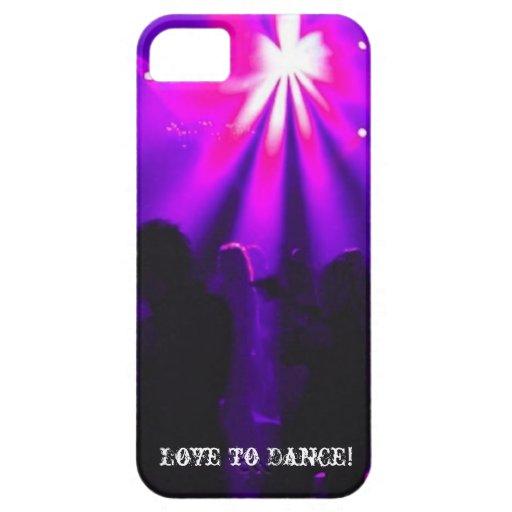 Amor para bailar iPhone5 el logotipo del fiesta Funda Para iPhone SE/5/5s