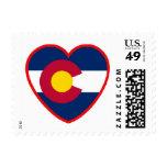 Amor para Colorado Estampilla