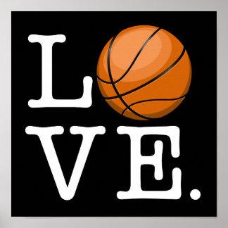 Amor para el baloncesto póster