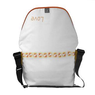 Amor para el bolso de la caída bolsas de mensajeria