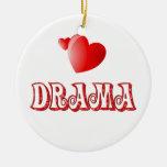 Amor para el drama adornos