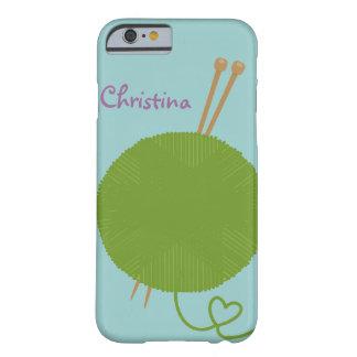 Amor para hacer punto la caja del iPhone 6 Funda Barely There iPhone 6