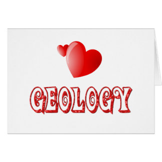 Amor para la geología felicitacion