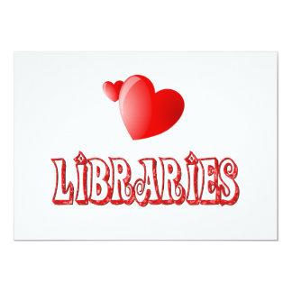 Amor para las bibliotecas