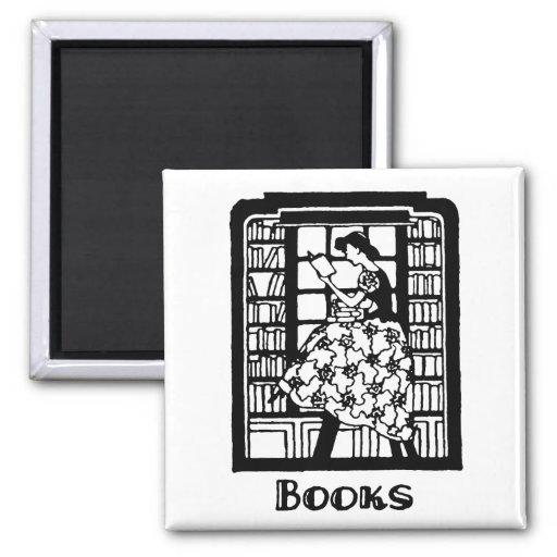 Amor para leer los libros imanes