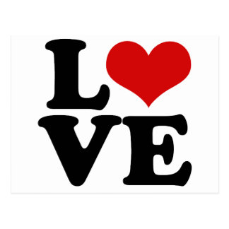 Amor para los amantes y el diseño del día de San Postal