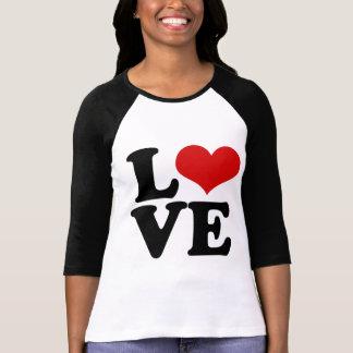 Amor para los amantes y el diseño del día de San Remera