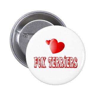 Amor para los fox terrier pin