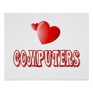 Amor para los ordenadores impresiones