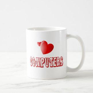 Amor para los ordenadores taza