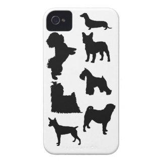 Amor para los pequeños perritos iPhone 4 Case-Mate carcasa